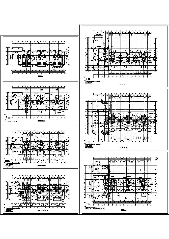 最新整理的CAD设计高层住宅建筑图图片1