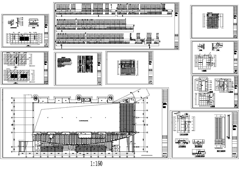 城市会展中心二次装修电气施工图图片1