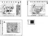 某新区绿化种植CAD平面图(含植物材料表)图片1
