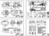 某地局部二层砖混结构中心大门工程设计CAD施工图(含设计说明)图片1