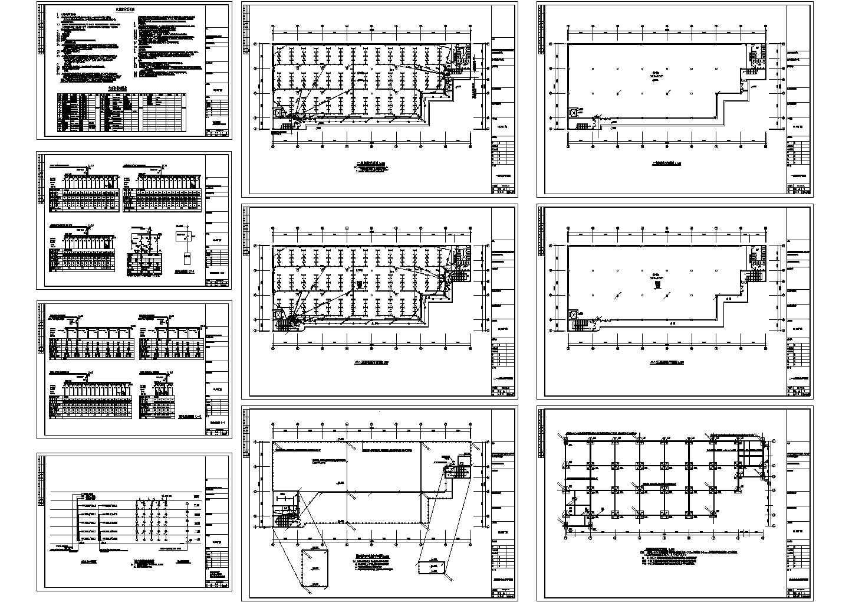5层6682�O工业厂房电气施工图设计图片1