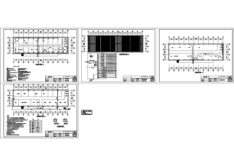 某车间水电施工设计图图片1