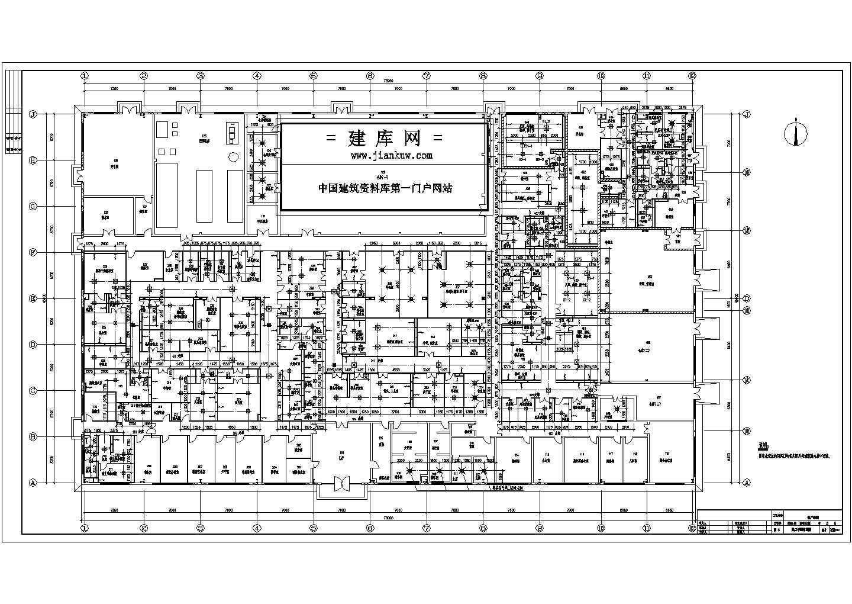 南方某制药厂全套洁净空调通风系统设计cad施工图(含设计施工说明)图片1