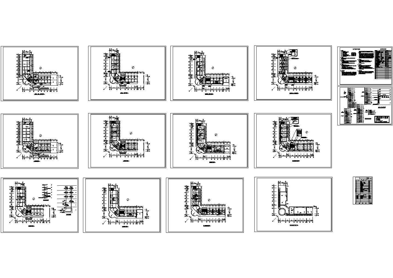 某戒毒所综合楼电气施工图图片1