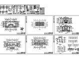 冠迪花园751m2框架结构双联别墅建筑施工图纸(含设计说明)图片1