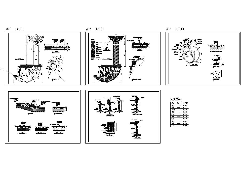 双庭广场CAD建筑设计施工图图片1