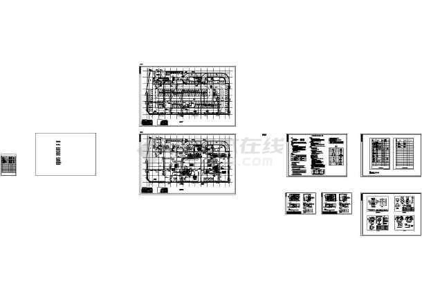 [广东]高层商业综合楼空调通风及防排烟施工图(含人防设计)-图一