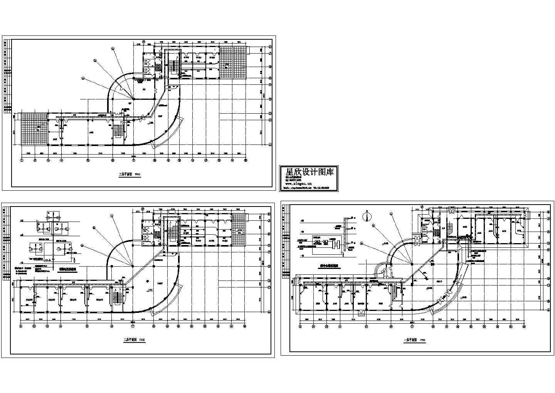 某2150平方米办公楼电气设计施工图图片1