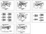 某市高级会所电气CAD布置图图片1