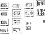 某4层厂房电气平面图图片1