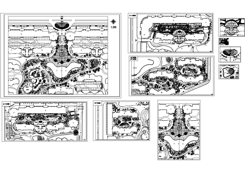 某小区景观设计方案平面图图片1