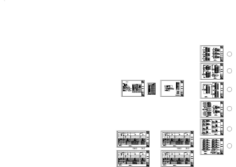 某地区地下停车场电气照明设计图(含设计说明)图片1