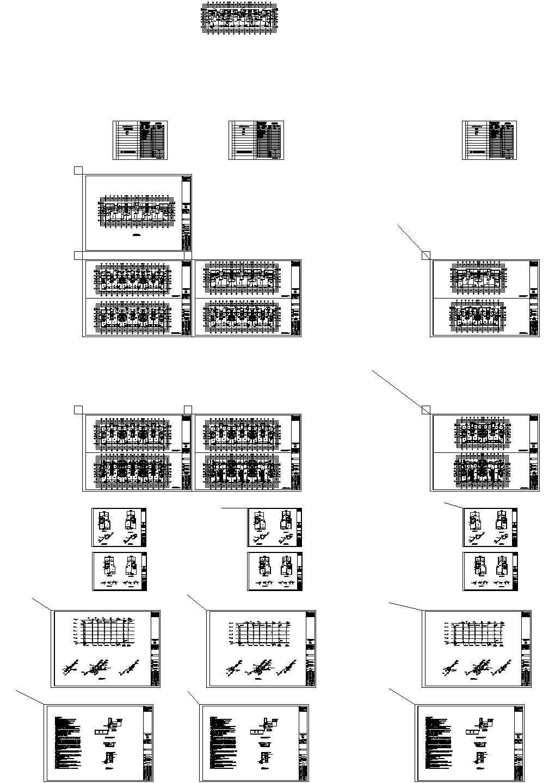 江苏某四星级大酒店给排水施工设计cad图,含施工说明图片1