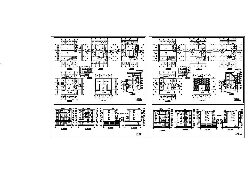 四层私人独栋别墅建筑设计方案图图片1