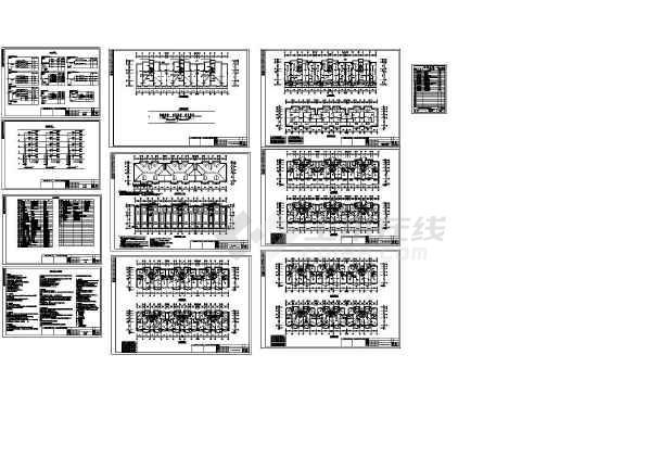 上海高层住宅区中的某住宅楼电气设计图(含设计说明)-图一