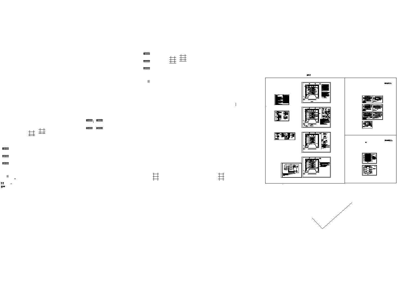 秋石西机动车加油站施工图-电气设计施工图纸图片1