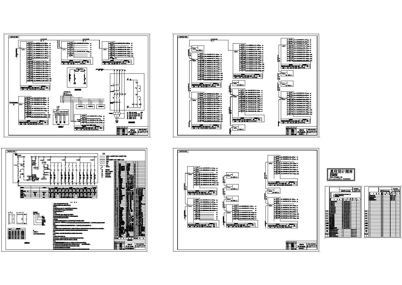 建设局办公楼电气设计施工图图片1