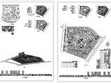 小区规划总平面图鸟瞰图分格图图片1