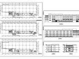长80米 宽24米 3层厂房建筑方案设计图图片1