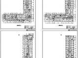 四层办公楼照明平面CAD图图片1