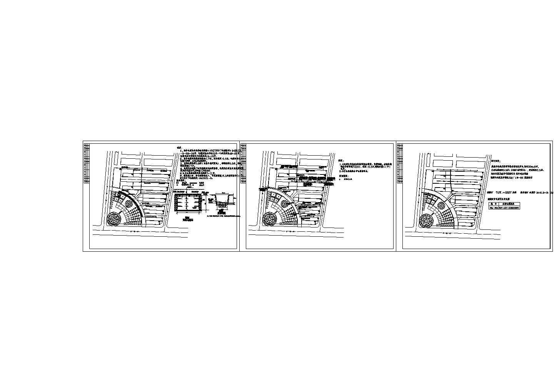 某小区室外管网施工图(含3张图纸)图片1