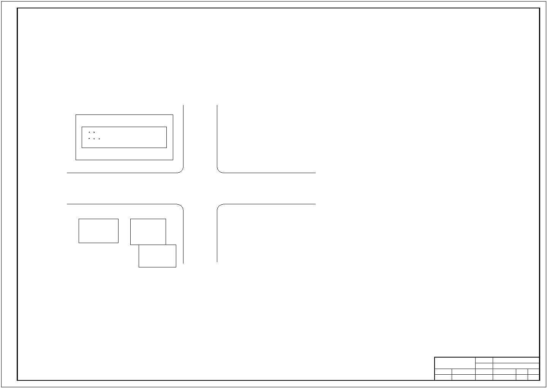 5层 5200平米左右一字型框架结构办公楼毕业设计(含建筑结构图、计算书)图片1