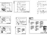 余姚市某经典办公楼室内安装工程电路CAD布置图图片1