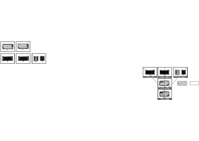 某多层厂房设计cad建筑方案图(大院设计)图片1