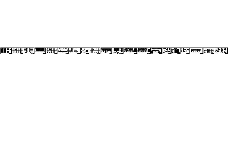 5524平米六层带架空层中学教学楼毕业设计图片1