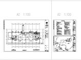 人防给排水平面和系统图,含设计说明图片1