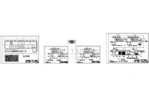 广东某线路板厂生产废水处理工艺流程图-图一