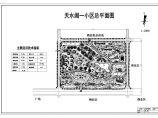 某居住小区景观规划方案整套CAD施工图纸图片1
