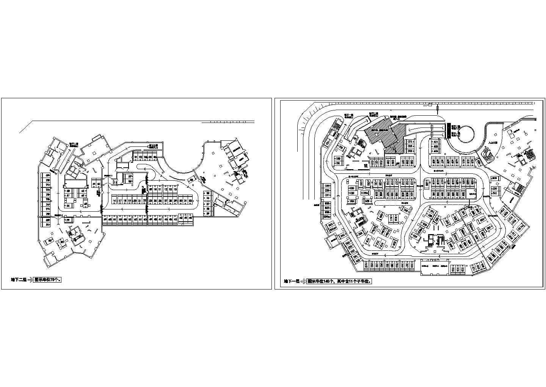 地下停车场平面布置图图片1