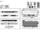 1层6834.4平米钢结构高强度坚固件生产厂房建筑施工图【平立剖 卫大样 内装修表 说明】图片1