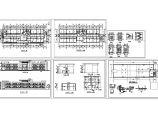 某污水处理厂管理楼设计cad建筑施工图(标注详细)图片1