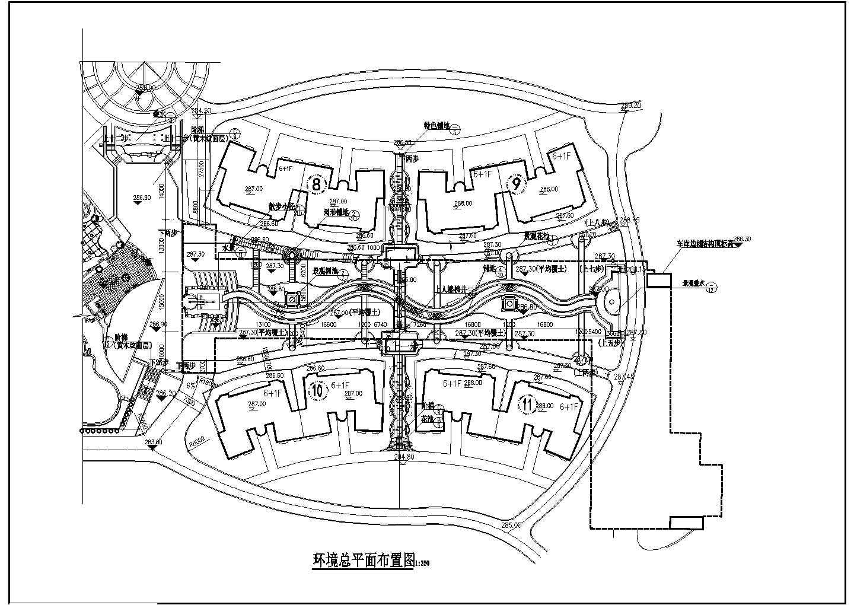 规划小区总平面图环境总平面布置图图片1