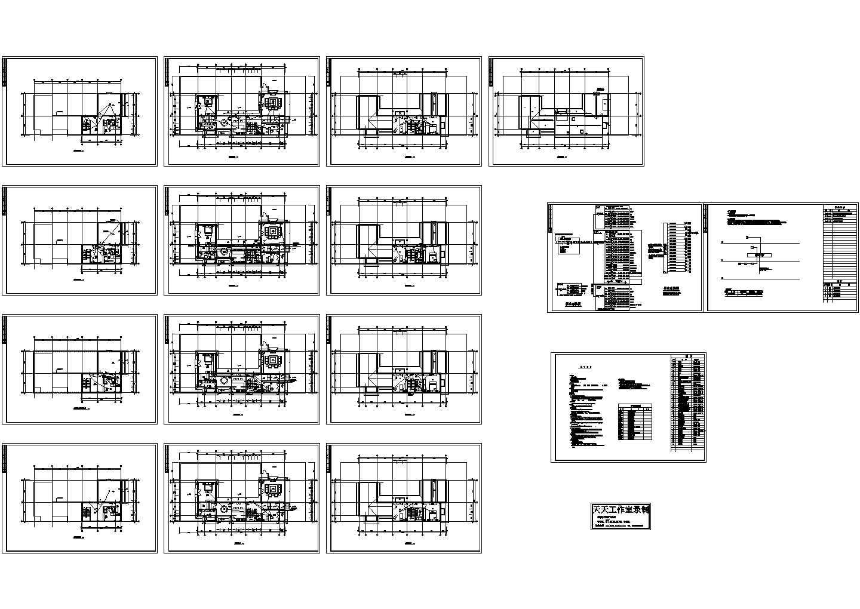 三层某别墅电气设计施工图纸图片1