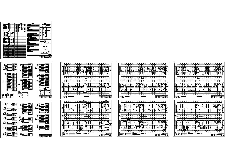 某办公楼强弱电施工图图片1