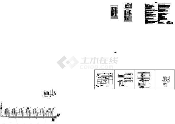 [四川]高层精神病医院综合楼强弱电施工图(含设计说明,目录)-图一