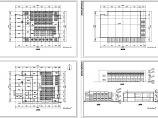 2层学校食堂建筑方案设计图(长46.5米 宽31.2米)图片1