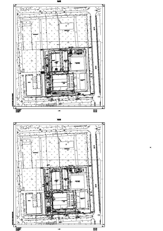 [江苏]丙类联合厂房给排水施工设计cad图,含施工说明图片1