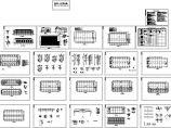 2层2030平米厂房建施图【平立剖 建筑设计说明 结构配筋平面图】图片1