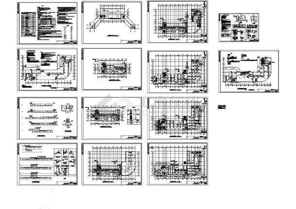综合楼暖通空调设计CAD施工图纸(大样,设计说明)-图一