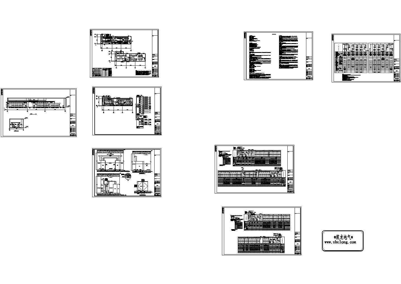 18层大型商业广场五星级酒店=电气施工图纸(标注明细),93张图片1