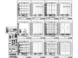 某车间办公室电气设计施工图纸图片1