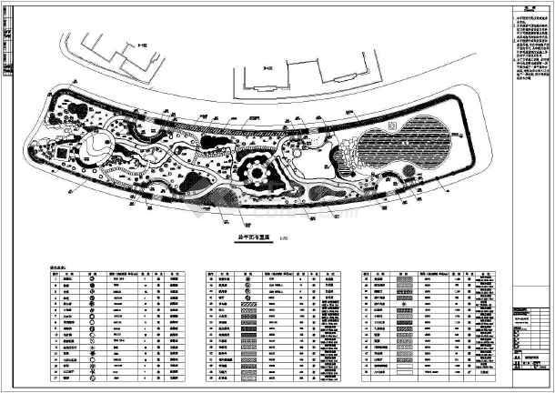 园林绿化施工图纸-图一