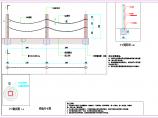 某户外工程水泥仿木栏杆CAD施工详图(含平立剖面图和设计说明)图片3