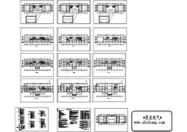 某4057㎡厂区五层办公楼电气施工图纸-图一