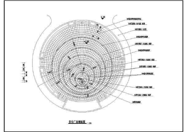 广场铺装节点详图-图二
