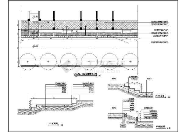 走廊高差处理节点详图-图一